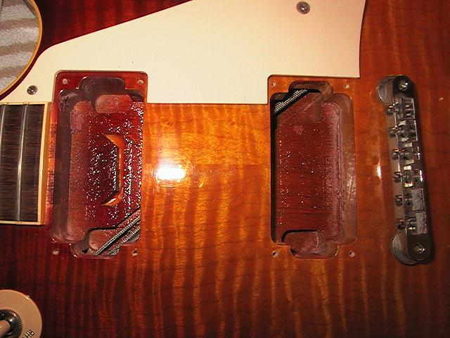 geetarz the peter green gary moore les paul mod gibson 58 historic reissue wiring channel
