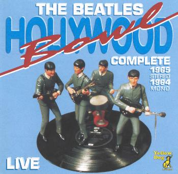 the beatles hollywood bowl complete. Black Bedroom Furniture Sets. Home Design Ideas