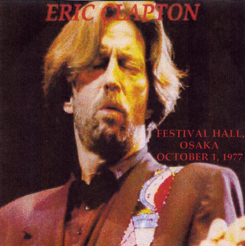 eric clapton - festival hall  osaka
