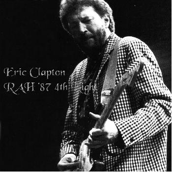 eric clapton royal albert hall london juauary 7 1987. Black Bedroom Furniture Sets. Home Design Ideas