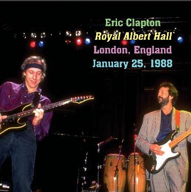 eric clapton royal albert hall london england january 25 1988. Black Bedroom Furniture Sets. Home Design Ideas