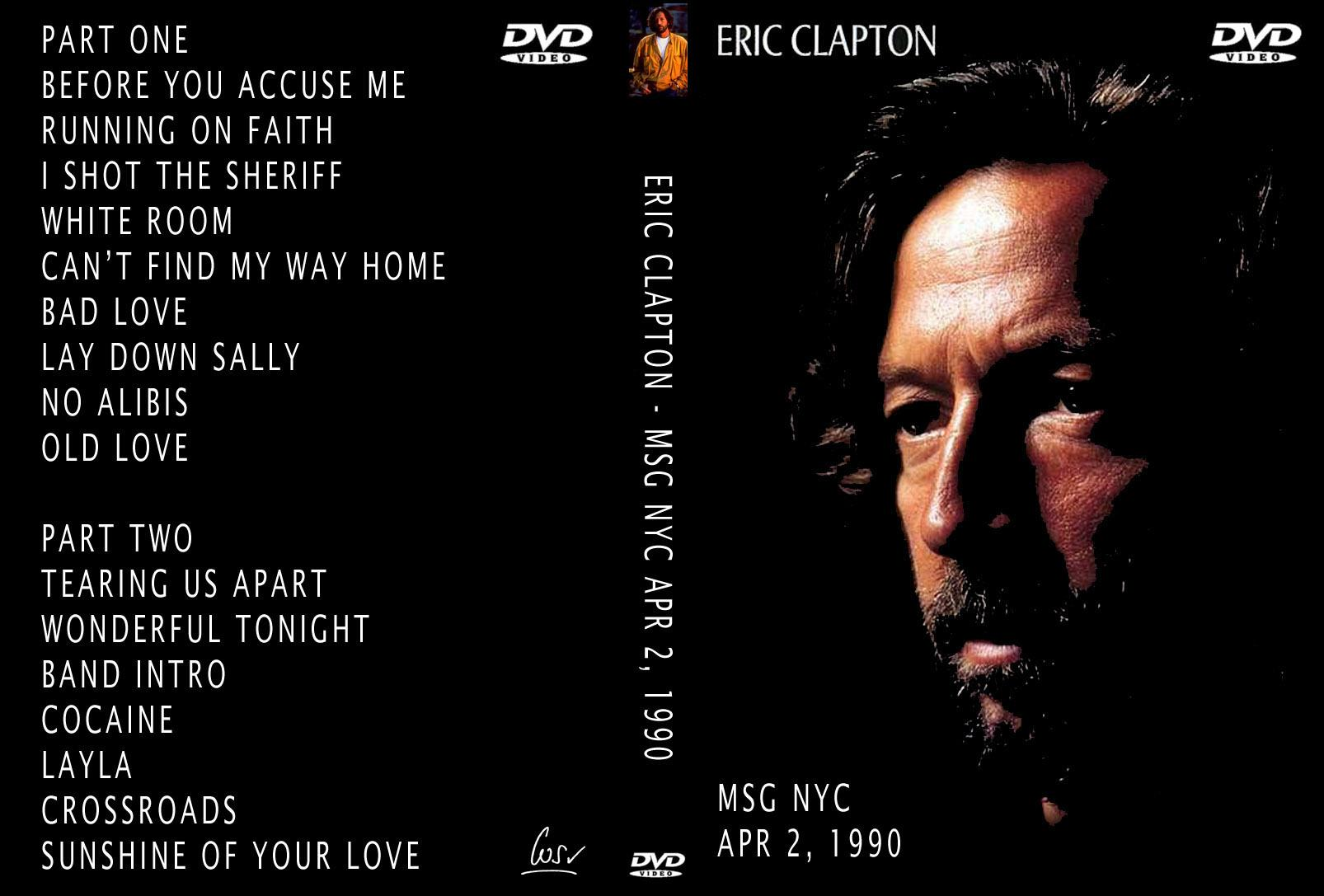 Eric Clapton Madison Square Garden April 2 1990 Dvd
