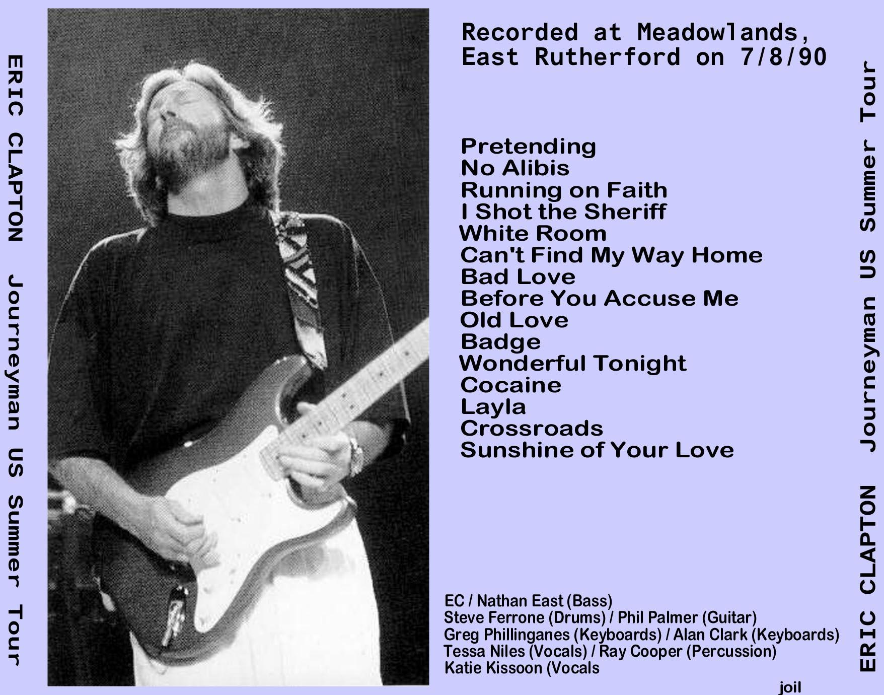 Eric Clapton Eric Claptons Rainbow Concert