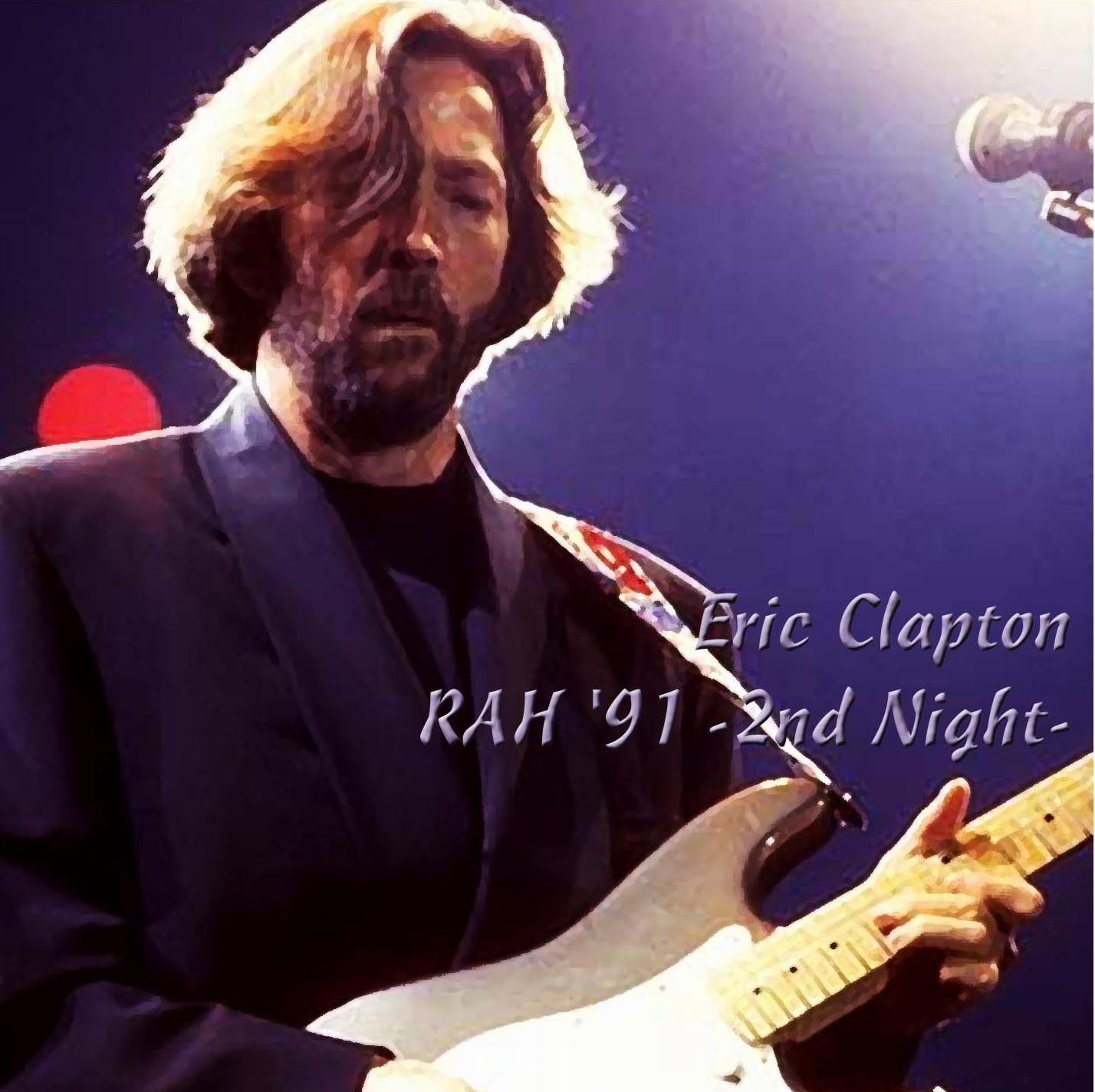 eric clapton royal albert hall london england february 6 1991. Black Bedroom Furniture Sets. Home Design Ideas