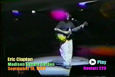 Eric Clapton Madison Square Garden September 18 1995 Dvd