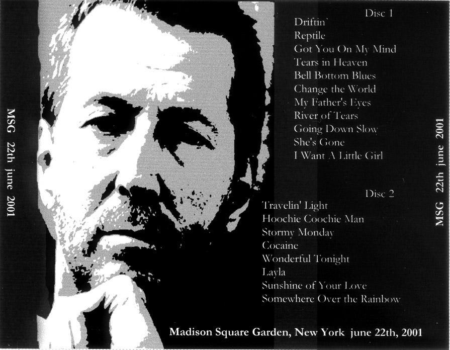 Eric Clapton Msg 2001 Ii
