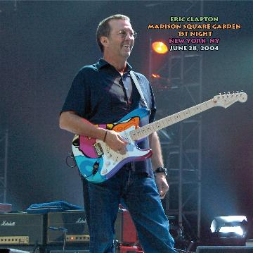 Eric Clapton Madison Square Garden New York Ny June 28 2004