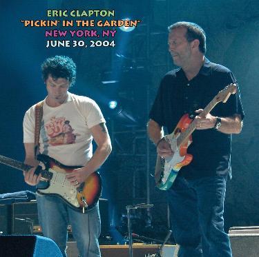 Eric Clapton Pickin 39 In The Garden Madison Square Garden New York Ny June 30 2004