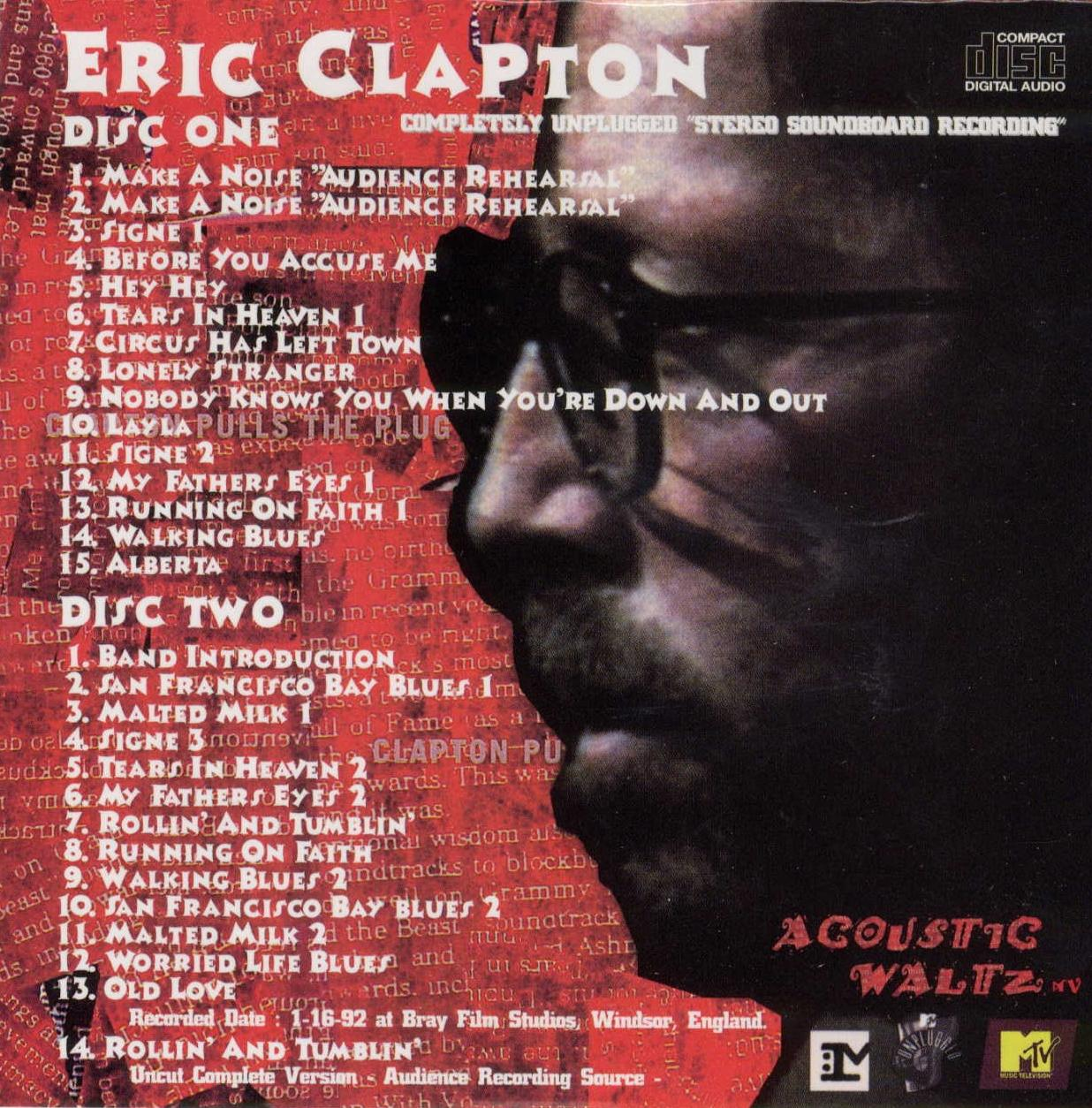how to play eric clapton acoustic