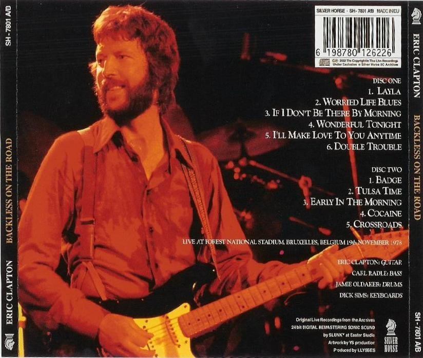 Wonderful Tonight Live Eric Clapton: Backless On The Road