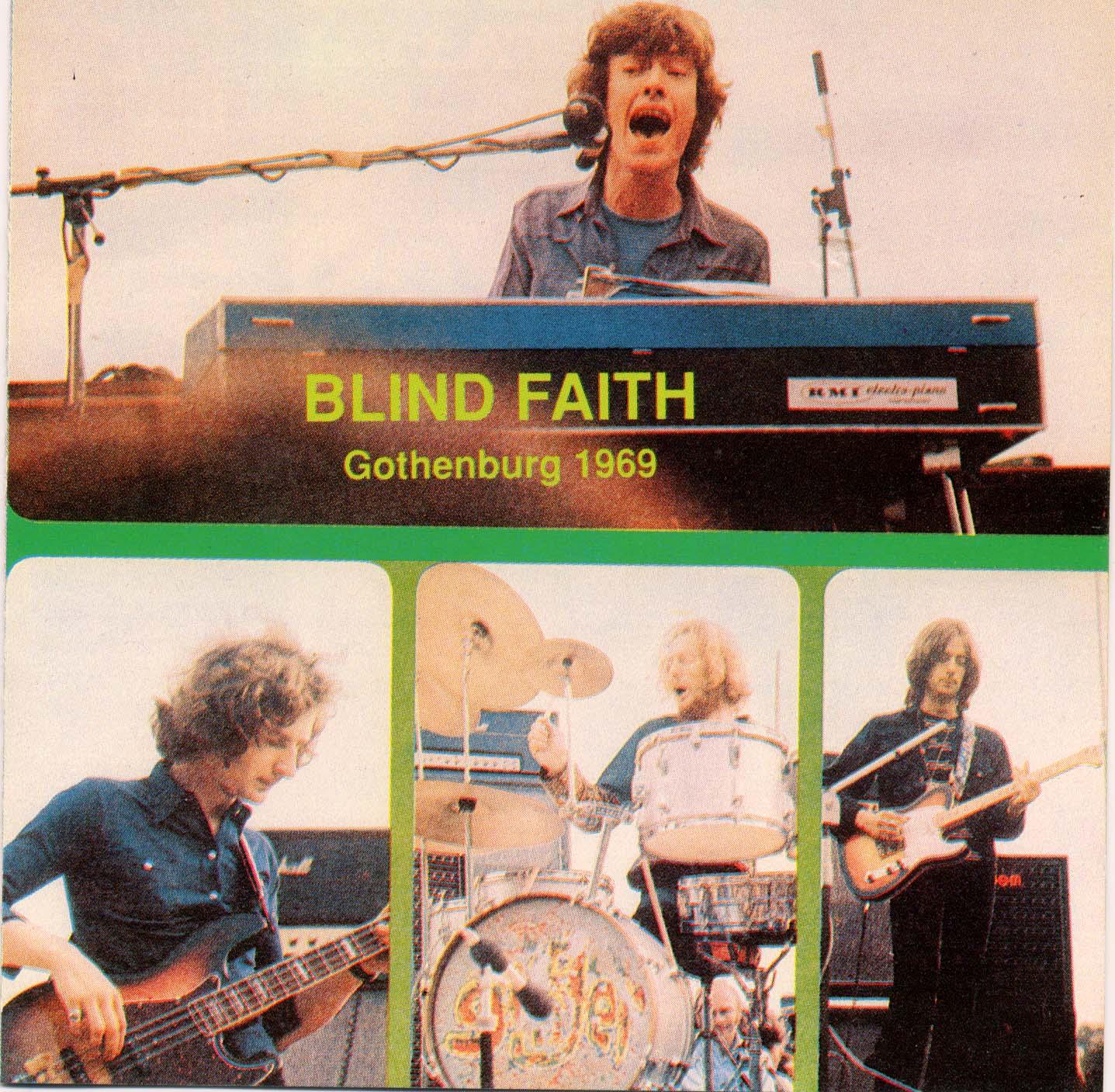 Blind Faith Gothenburg 1969