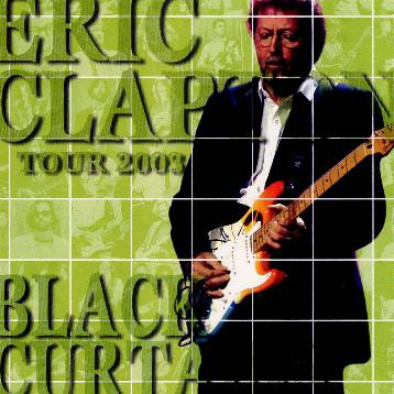 Eric Clapton In The White Room With Black Curtains