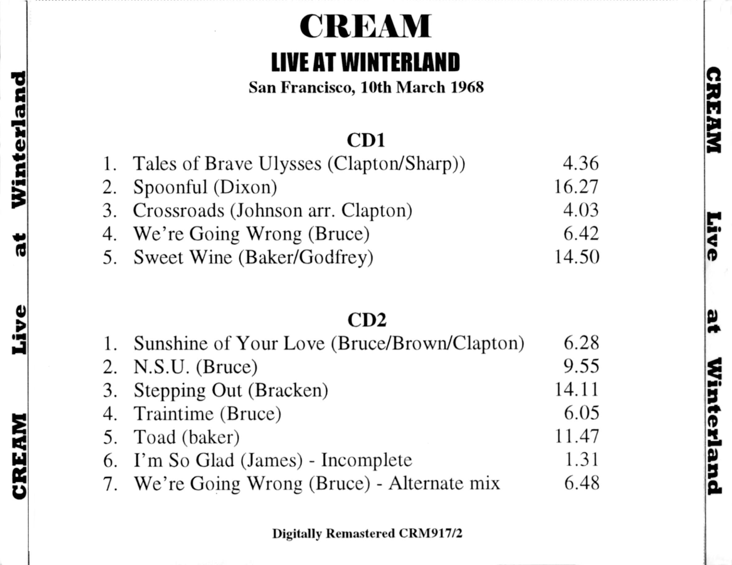 Cream Live Cream