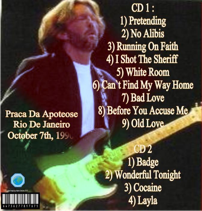 Cocaine Live Eric Clapton: Eric Clapton