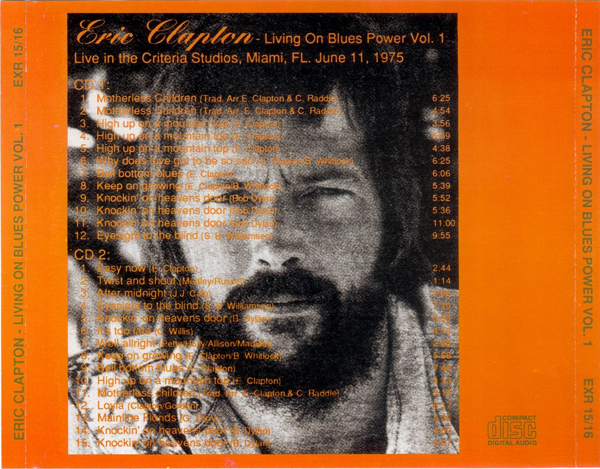 Eric Clapton Living On Blues Power Volume 1