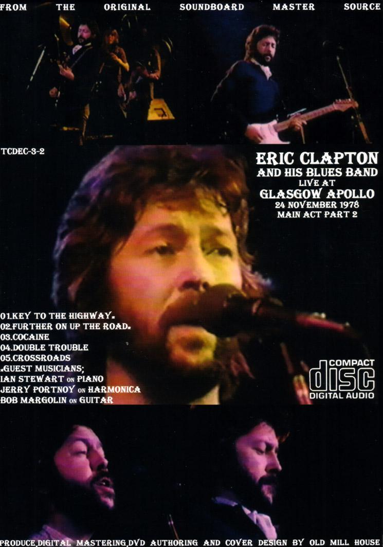 Eric Clapton And His Rolling Hotel Tarantura Cd Dvd Set