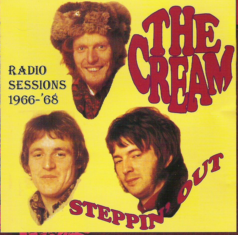 Cream - Steppin' Out - Invasion Unlimited Steppin Out