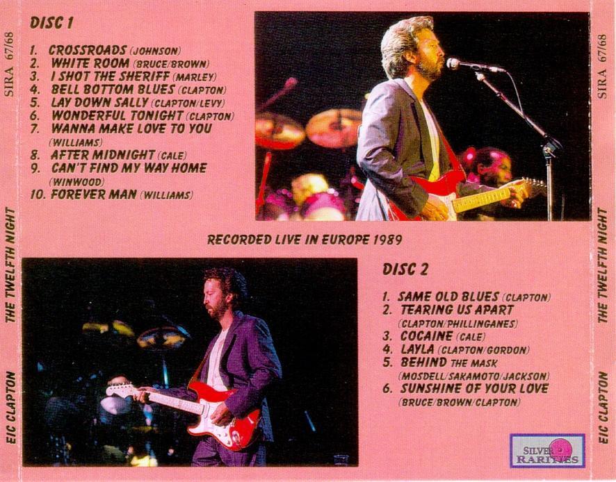 Eric Clapton - the Twelfth Night