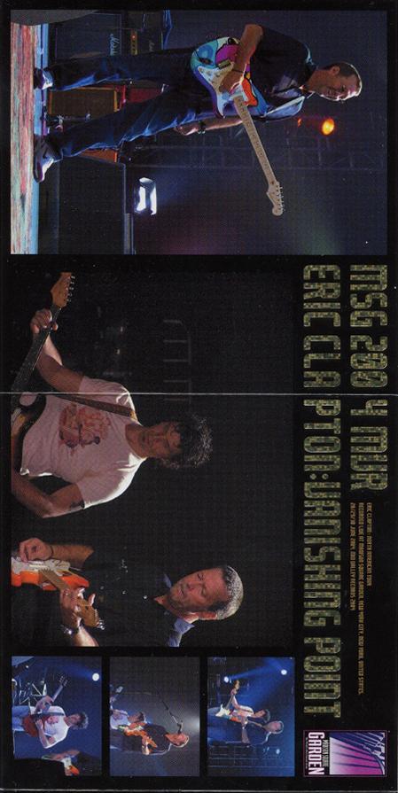 Eric Clapton Vanishing Point Madison Square Garden New York 2004 Mid Valley