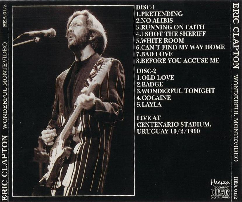 Wonderful Tonight Live Eric Clapton: Wonderful Montevideo