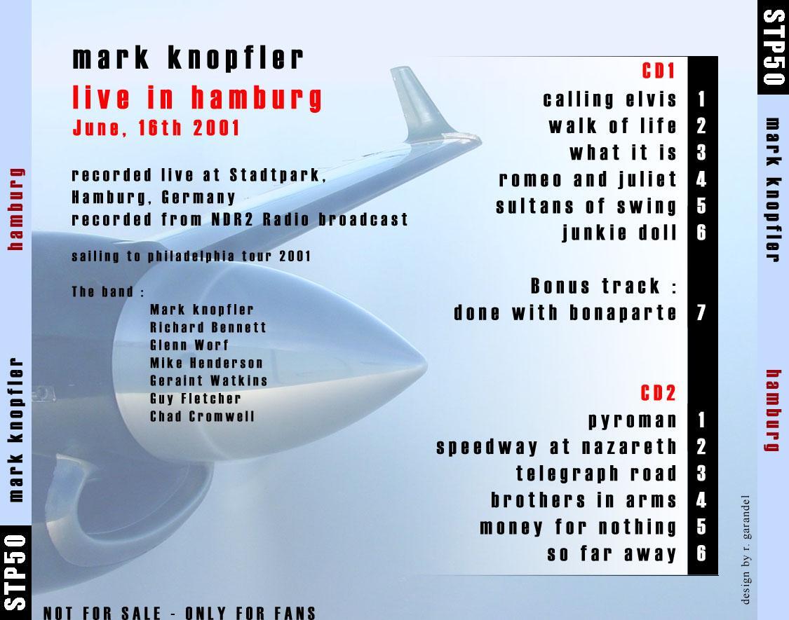 Mark Knopfler - 2001-06-16: Stadtpark, Hamburg, Germany