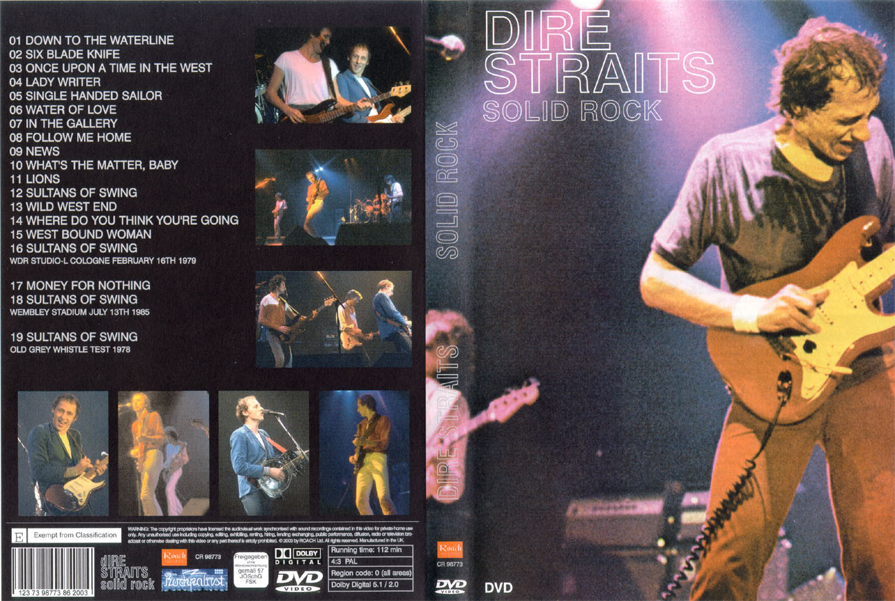 Dire Straits Live in 85 BRD