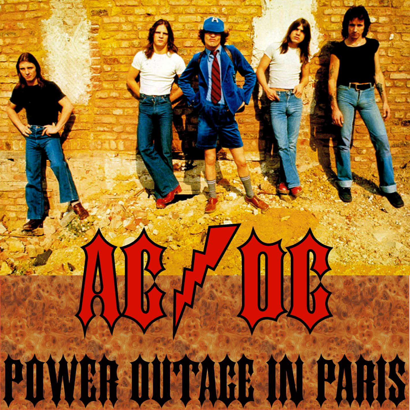 Queen Greatest Hits Album Cover AC / DC - Power...
