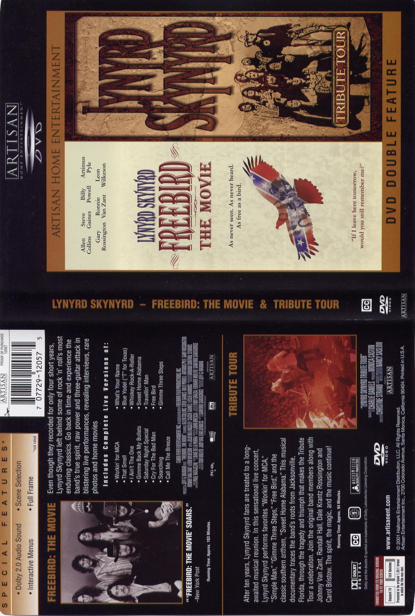 Lynyrd Skynyrd Tribute Tour Dvd