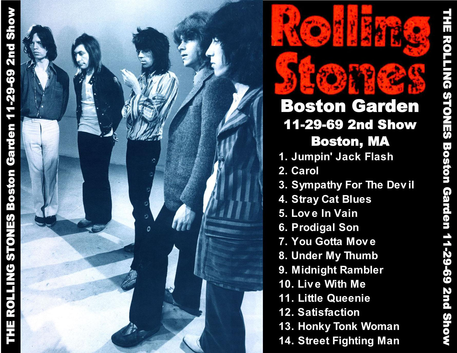 Rolling Stones - Boston Gardens - Boston, Mass  - November