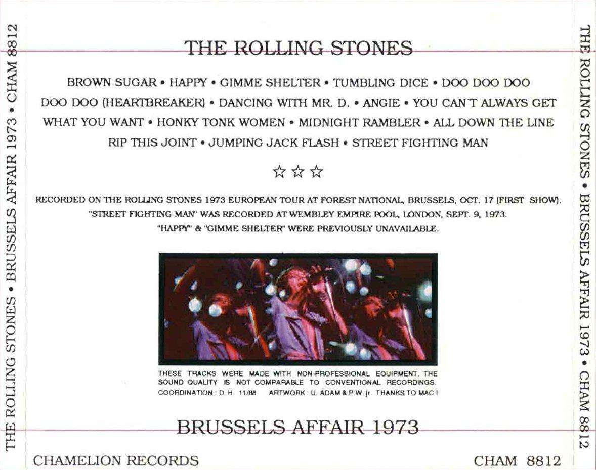 The Rolling Stones - Brussels Affair