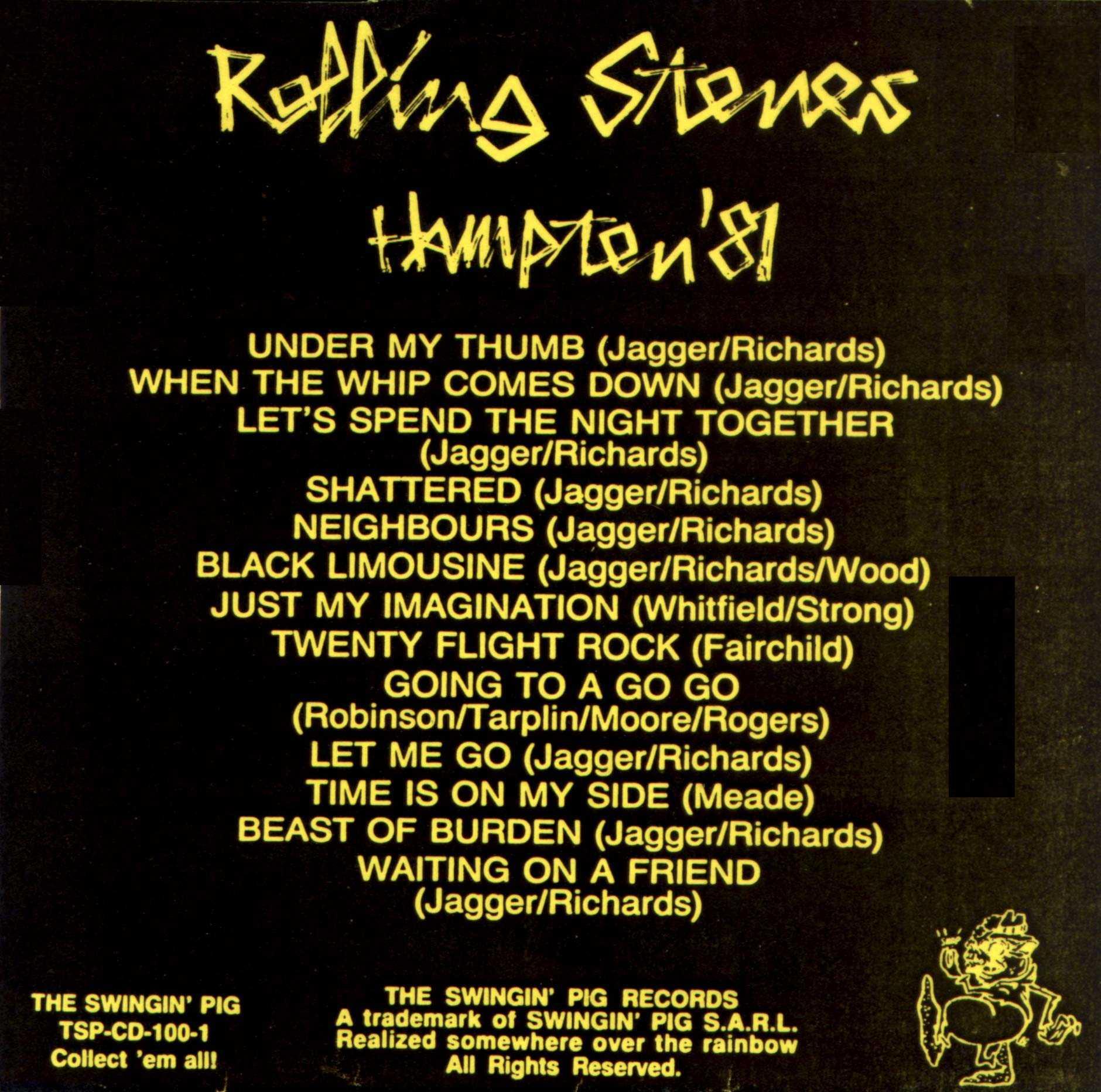 The Rolling Stones - Hampton 1981
